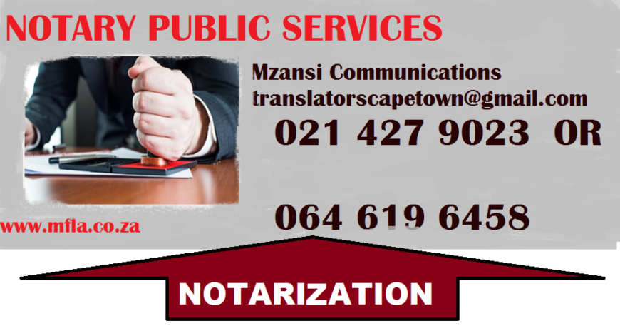 Notary-public-services
